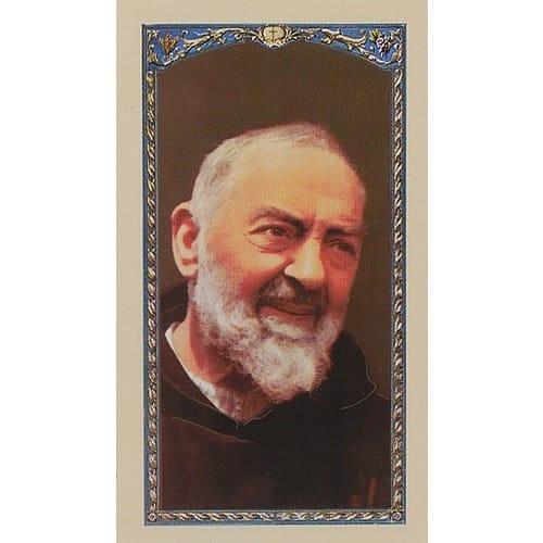 Prayer to Saint Pio of Pietrelcina - Prayer Card
