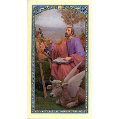 St. Luke - Prayer Card