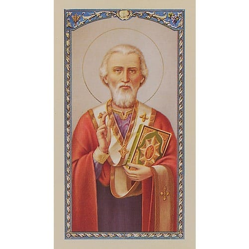St. Nicholas - Prayer Card