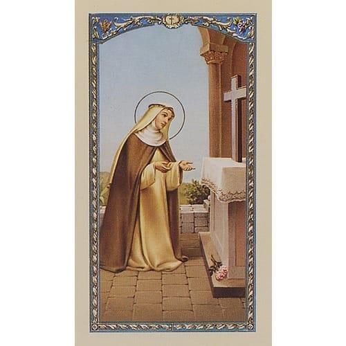 st Rose of Lima Prayer Card
