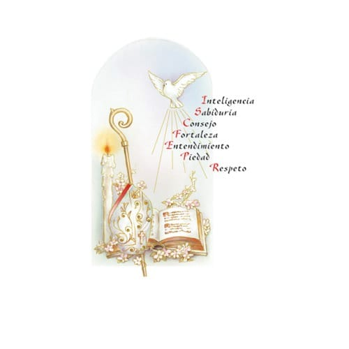 Gifts of the holy spirit personalized prayer card spanish the gifts of the holy spirit personalized prayer card spanish the catholic company negle Images