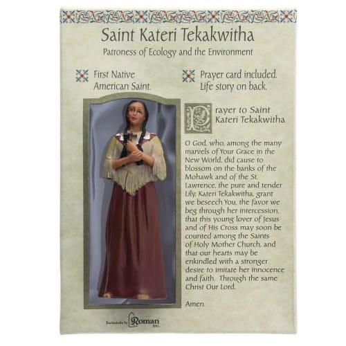 St. Kateri Tekakwitha Figurine