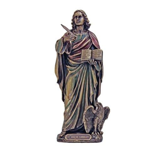 St. John Veronese Statue, Bronzed 8 inch