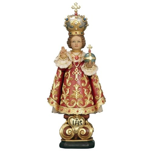 Infant of Prague Hand-Painted Italian Statue