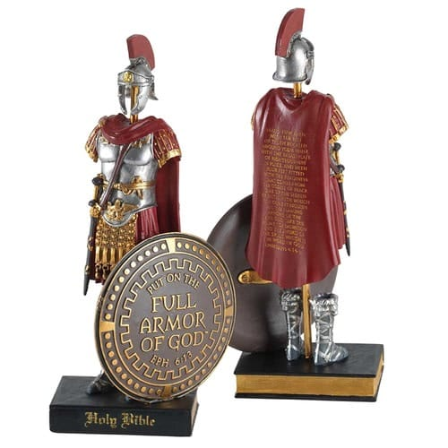 Armor of God Soldier Statue