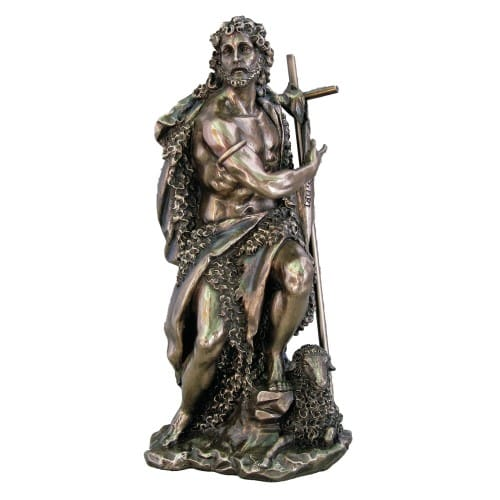 St. John The Baptist Statue 9.5''
