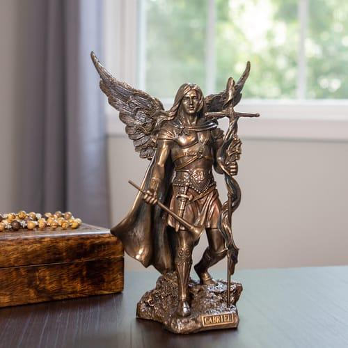 Archangel Gabriel Statue 9''