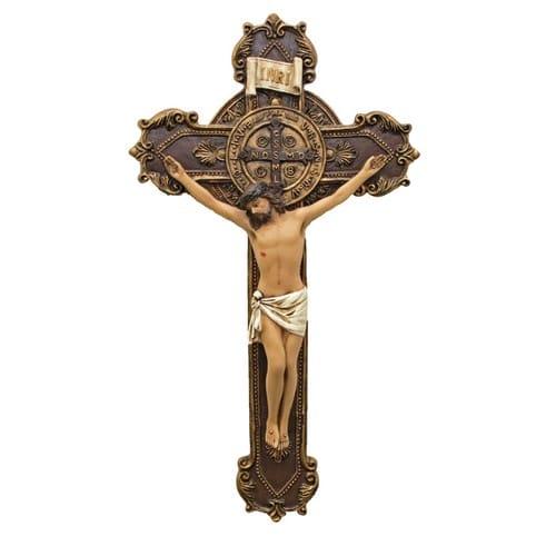 St. Benedict Crucifix 11''