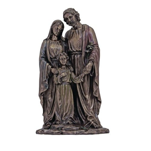 Holy Family Statue 10''