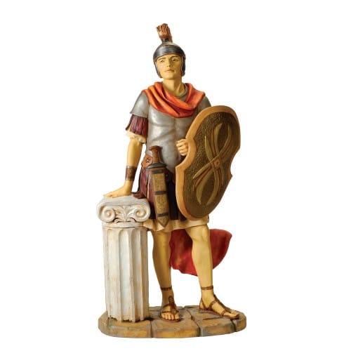 """Fontanini Roman Soldier Figure 50"""" Scale"""