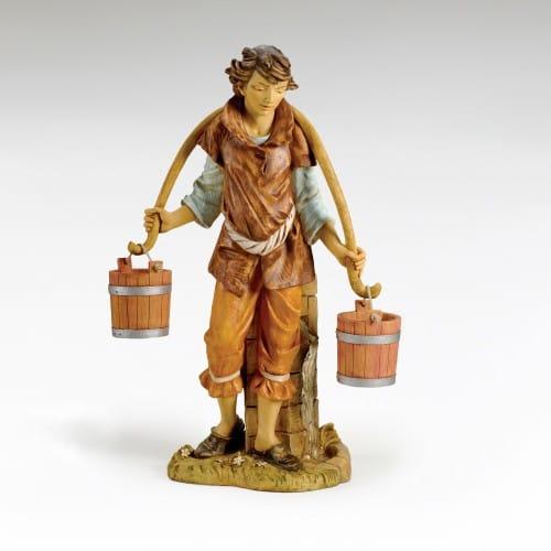 "Fontanini Noah with Buckets Figure 50"" Scale"