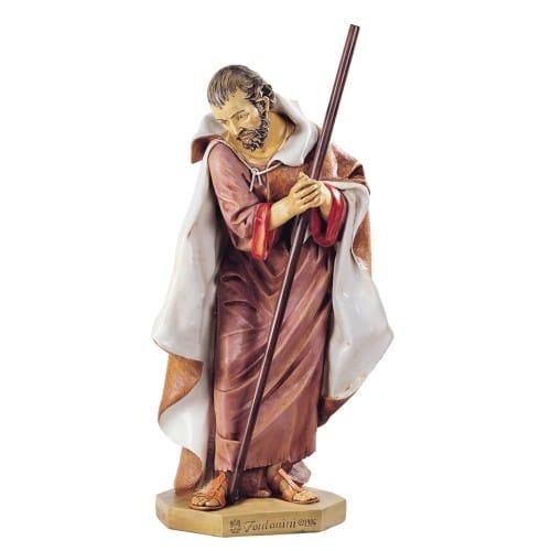 "Fontanini Joseph Nativity Figure 50"" Scale"