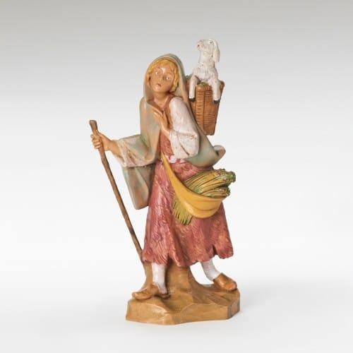 "Fontanini Miriam Nativity Figure 7.5"" Scale"