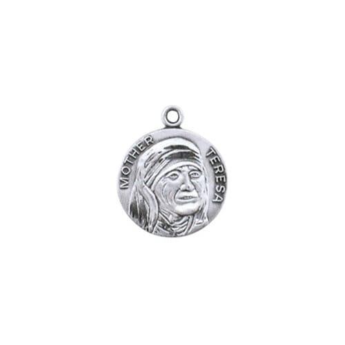 Sterling Mother Teresa Medal