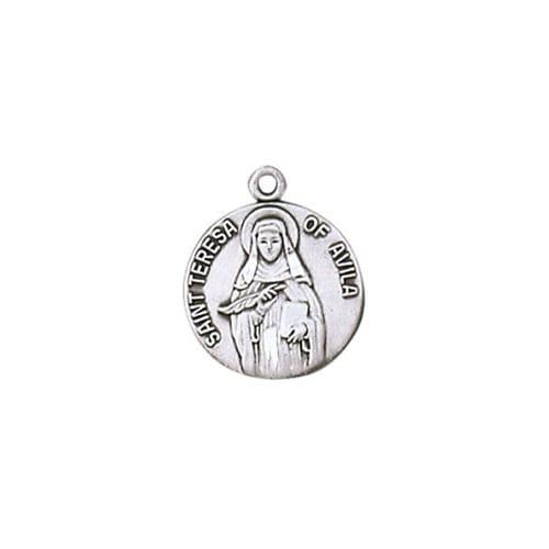 Sterling St. Teresa Avila Medal