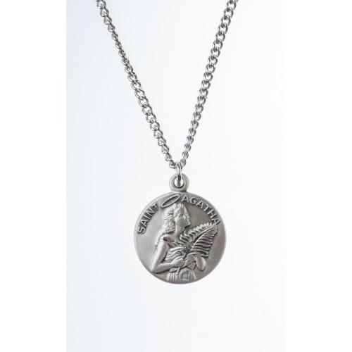 Sterling St. Agatha Medal