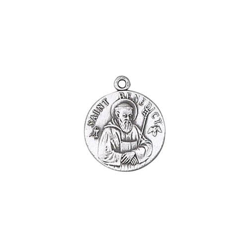 Sterling St. Benedict Medal