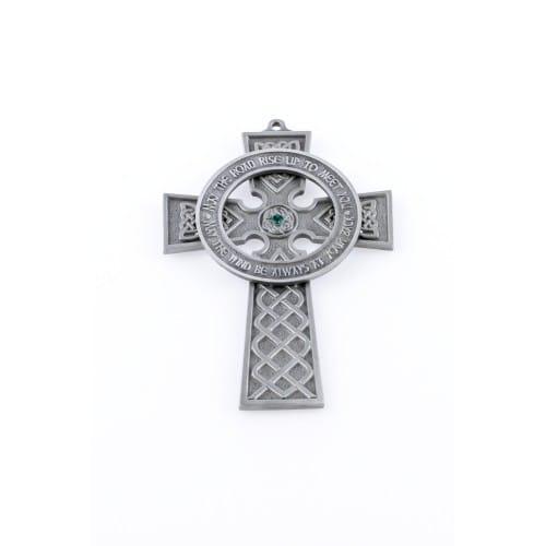 """Celtic Pewter Cross 5"""""""