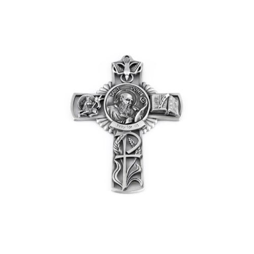St. John The Apostle Wall Cross 5""