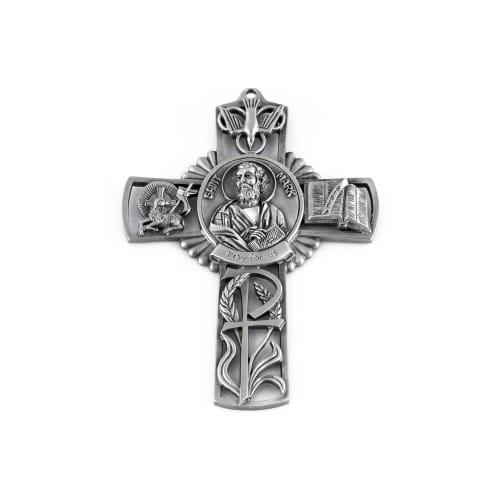 "St. Mark Wall Cross 5"""