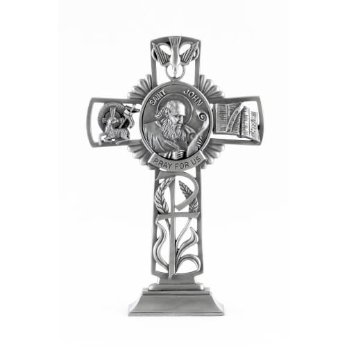 St. John The Apostle Standing Cross 5""