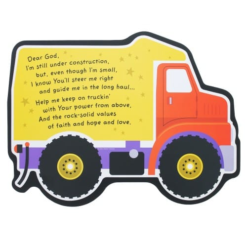Truck Shaped Wood Plaque