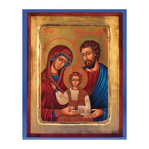 """Holy Family Icon -7"""" x 5.5"""""""