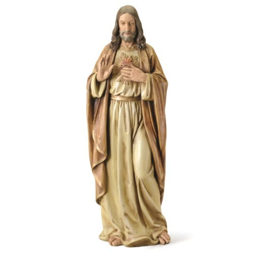 Sacred Heart of Jesus Statue - 37.5""