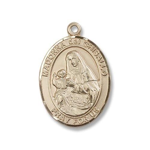 14kt Gold St. Madonna Del Ghisallo Medal