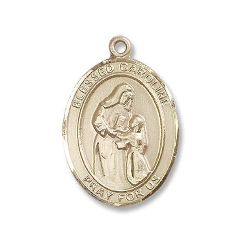 14kt Gold Blessed Caroline Gerhardinger Medal