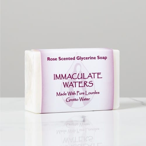 Immaculate Waters Bar Soap - Rose Scented