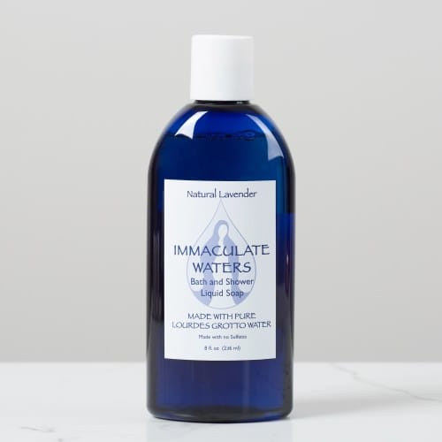 Immaculate Waters Bath and Shower Gel - Natural Lavender