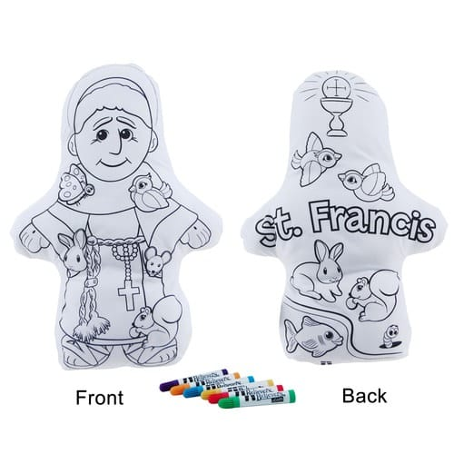 Wee Artist Color and Hug St. Francis