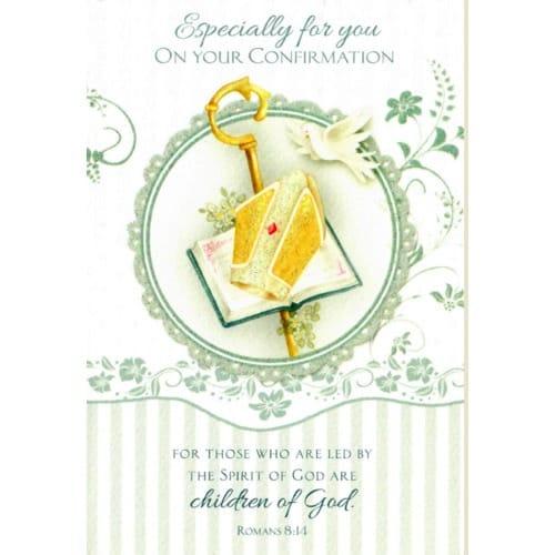 Confirmation Greeting Card - Boy