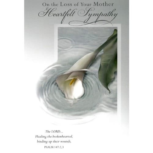 Sympathy Card - Loss of Mother