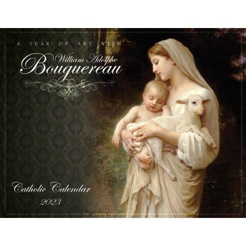 Bouguereau 2019 Catholic Wall Calendar