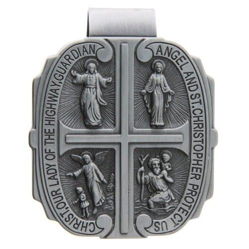 Four Way Medal Visor Clip