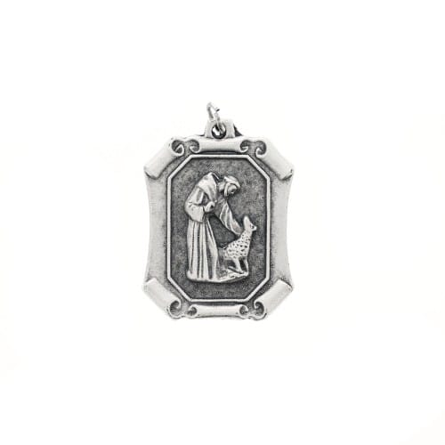 St. Francis Pet Medal - Square