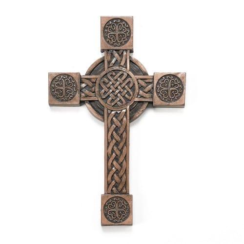 "Celtic Wall Cross 8"""