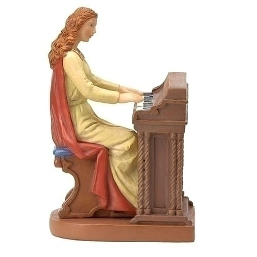 St. Cecilia Figurine