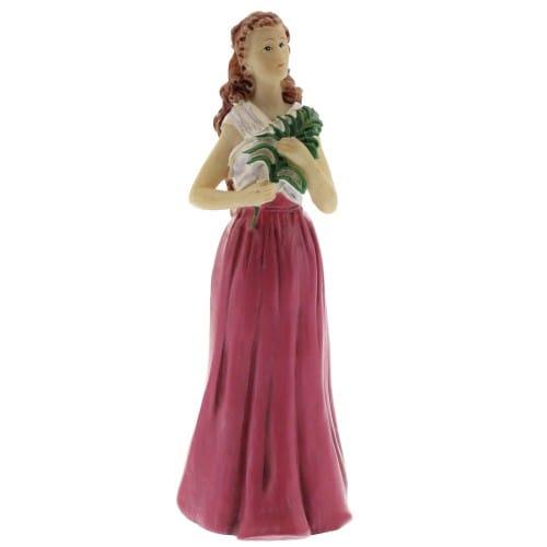 St. Agatha Figurine