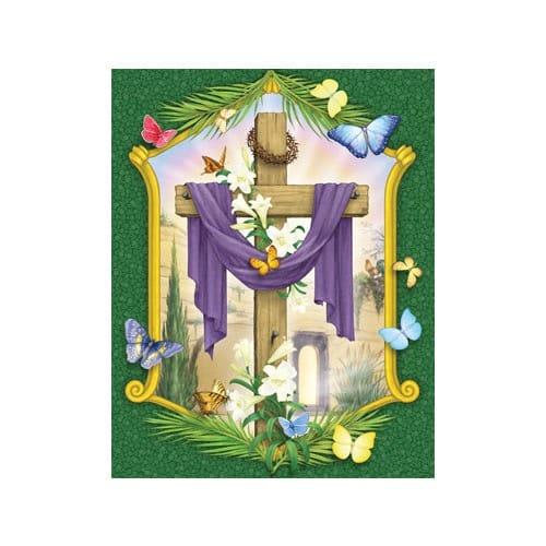 Lenten Cross Countdown Calendar