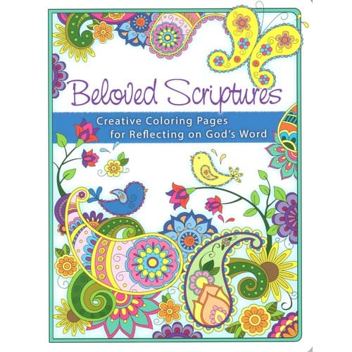 Beloved Scriptures Journal Coloring Book