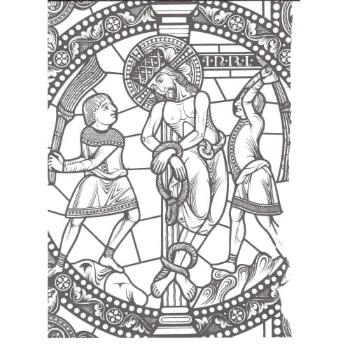 Windows Into Christ Coloring Book