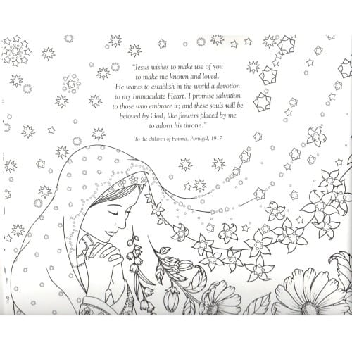 Our Lady's Garden Coloring Book