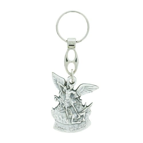 St. Michael Travel Keychain