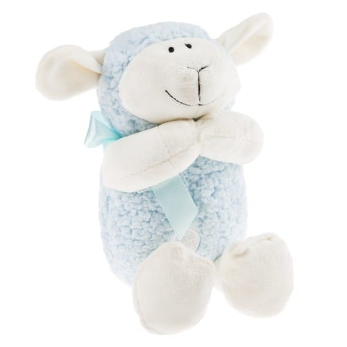 Blue Praying Lamb