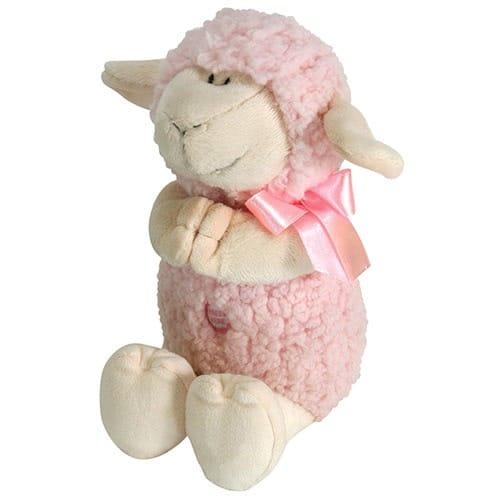 Pink Praying Lamb