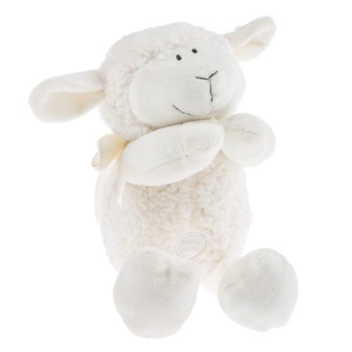 Cream Praying Lamb