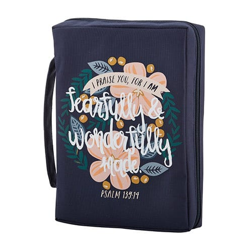 Wonderfully Made Bible Cover